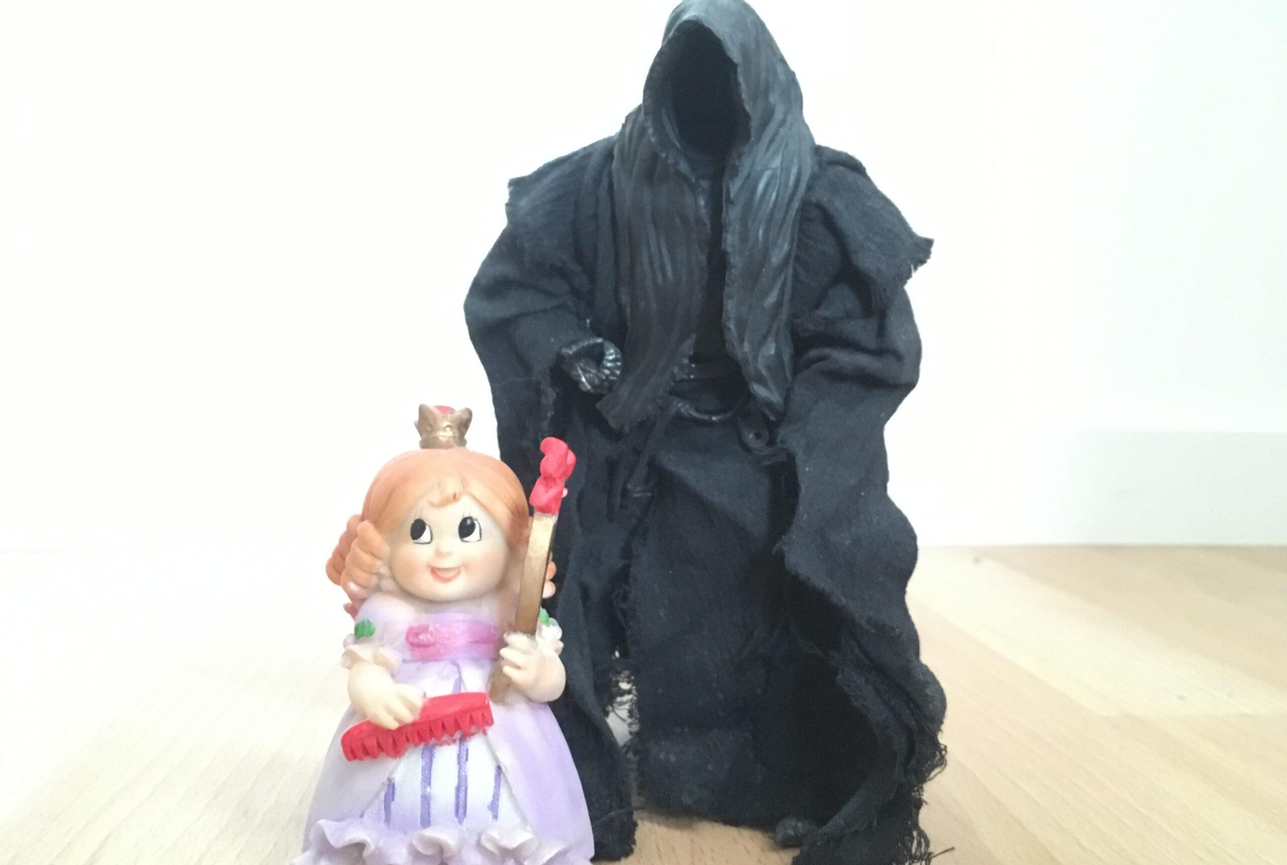 Dementor bag prinsessebarn